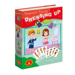 Game with magnets Alexander Magnetic Puzzle Dressing Up 1373