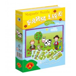 Game with magnets Alexander Magnetic Puzzle Farm Life 1374