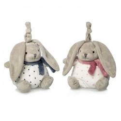 Soft musical toy bunny Artesavi 2038E