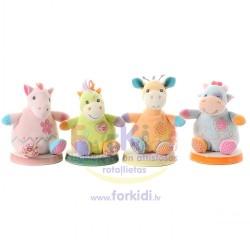 Soft toy Aurora Cottage Craft Critter Rattles 12416