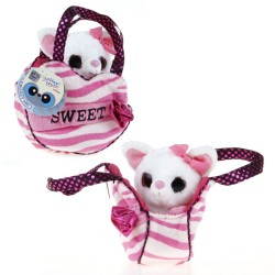Toy in bag Aurora Yoohoo Plush Fennec Pocket Pal 15cm 35009