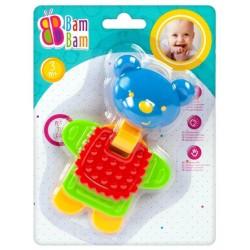Bam Bam Rattle Teether Bear 359928