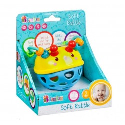 Musical toy Bam Bam Soft Rattle Bee 428977