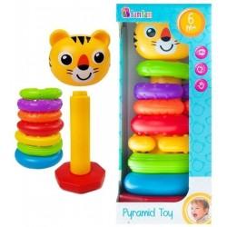 Educational toy Bam Bam Pyramid Toy Tiger 466615