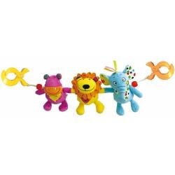 Activity toy Biba Toys My Jungle Friends Clip-on Toy JF130