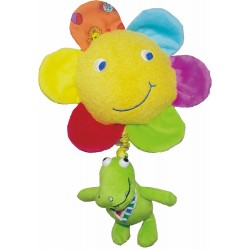 Soft musical toy Biba Toys Clive Pull Music JF137