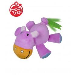 Activity toy with vibration Biba Toys Pull & Go Hippo JF948