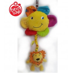Soft musical toy Biba Toys Lion Pull Music JF134