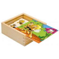 Wooden board game Bino Memo Make a Pair Maya Bee 16 pcs 13606