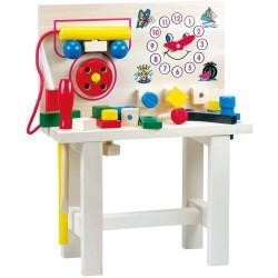 Wooden educational toy Bino Work Bench Big 82145