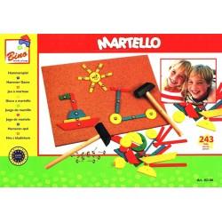 Wooden educational toy Bino Hammerspiel 82188