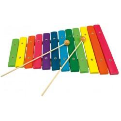 Wooden musical instrument Bino 12 Tone Xylophone 86554