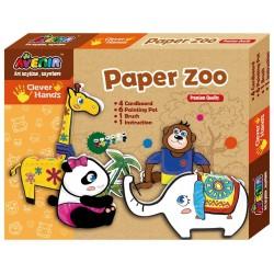 Craft set Bino Paper Zoo CH1090