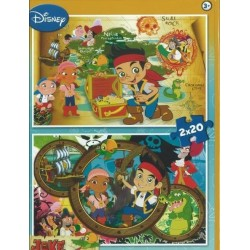 Clementoni Disney Jake puzzles 2x20 pcs 07011