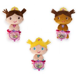Educational first doll Bright starts plush Princess rattle assorted 20cm 10053