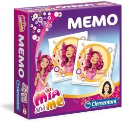 Board game Clementoni Memo Identic Mia and Me 80pcs 13477