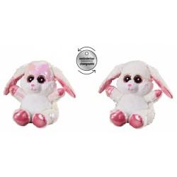 Plush toy Bauer Plush Hare Glitter 15 cm 14304