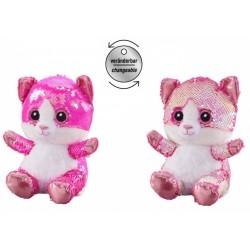 Plush toy Bauer Plush Cat Glitter 20 cm 14313