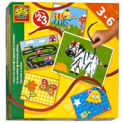 Craft set Ses I learn to count 20x20 cm 14826