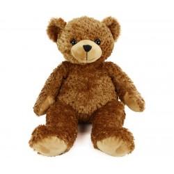 Plush toy Bauer Plush Bear dark brown 19048