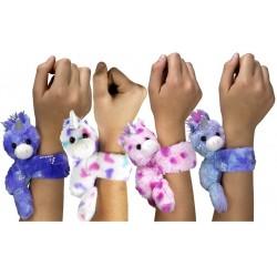 Bracelet Plush Huggers Unicorn 4 assorted 16x21cm 30477