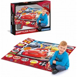 Clementoni Disney Cars 3 Floor Puzzle and educational logic game 61749