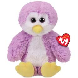 Plush toy Ty Plush Penguin purple with Glitter eyes Gordon 20cm 65019