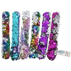 Bracelet Snap 6 assorted 23cm 88524