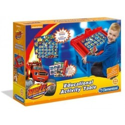 Clementoni Educational Activity Table Blaze with Logic Game Quizzy 96026