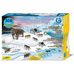 Game set Geoworld Ice Age Experience 8 Prehistoric Animals CL170K