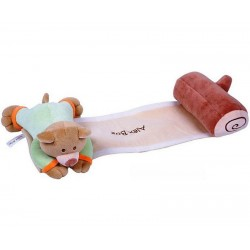 Pillow - support for newborns for comfortable sleep Baby Plush Postioner 10x50x20cm PRY550