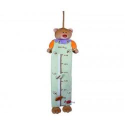 Soft height Chart Baby Plush Meter Bear Alex Blog 110x35cm PRY551