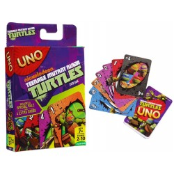 Board game Mattel Teenage Mutant Ninja Turtles Uno Card Game CJM71