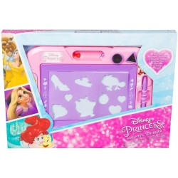 Sambro Disney Princess Magnetic Sribbler Magnetic Drawing Board + 2 Magnetic Stamps + 2 Stickersheets DSP-Y17-4568-T