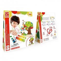 Craft set Hape Jungle Buddies Paint and Play Fun Wood Craft Set E5109