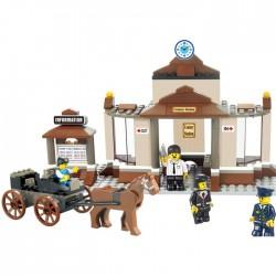 Construction Sluban Train Station Waiting Hall M38-B0230