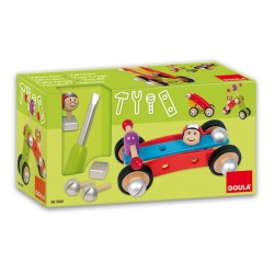 Wooden educational constructor Goula Vehicles 55230