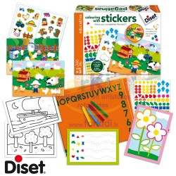 Craft set Diset Colour and Stickers 63966