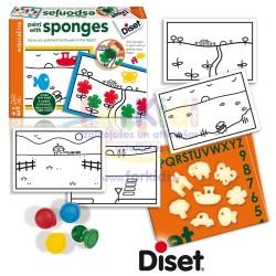 Craft set Diset Paint with Sponge 63967