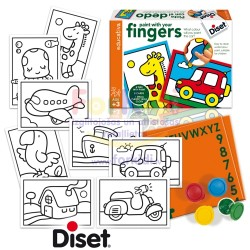 Craft set Diset Paint with Your Finger 63968