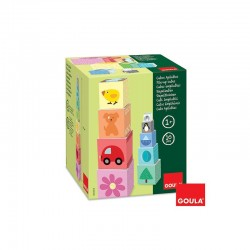 """Educational toy """"Learning to Count"""" Goula Pile-Up Cubes 1-10 55218"""
