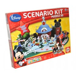 Puzzle 3D Educa Borras Scenario Kit Mickey 15077