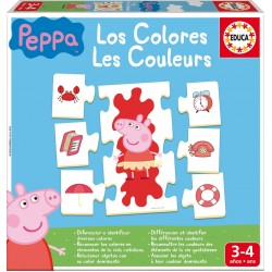 Puzzles for kids Educa Borras Puzzles Colors Peppa Pig 16225