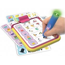 Electronic board game - quiz Educa Conector Junior Peppa Pig 16230