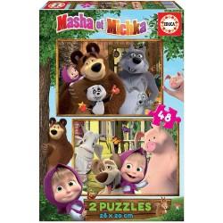 Educa Borras Puzzles Masha and the Bear 18644