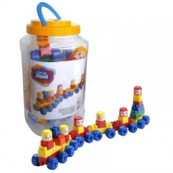 Constructor Game Movil Baby Train in Plastic Bottle 82104