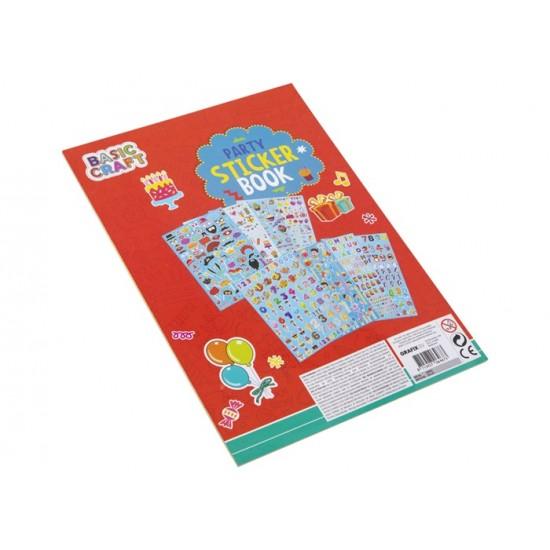 Art set Grafix A4 Stickerbook 8 sheets 3 assorted 100022