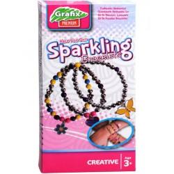 Craft set Grafix CYO Sparkling Bracelets 160393
