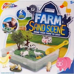 Play set Grafix Sand Scene Farm 168091