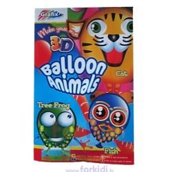 Craft set Grafix Make Your Own Ballon Animals 250072